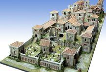 diorama medieval city