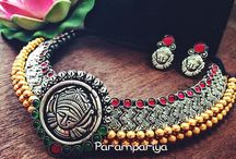Silver Indian jewellery