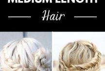 Frisuren - Inspirationen/Vorschläge