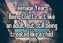teenage things