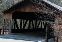Udderly Smooth Covered Bridges / Ohio offers many covered bridges for your discovery. You will note that old world style and charm abounds and is preserved in the modern day with these unique and functional bridges.