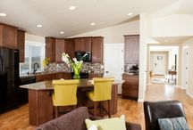 Kitchen Islands / An island oasis in the heart of the home...