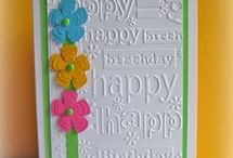 Cards: birthday