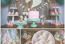Unicorn Garden Baby Shower (Girl)