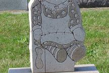 Grave Markers / by Pattie Burns
