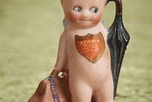 Antique Kewpie and Googly