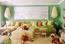 Playroom ideas / by Kelly Harnett