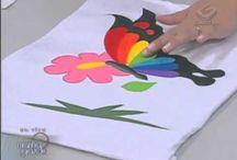 Pintura / Tingimento de Tecido / Fios