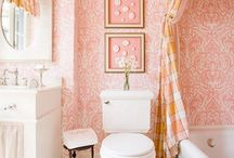 Bathroom decorating ideas / by Anne Woods