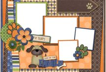 Scrapbooking Dog Pages