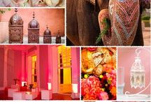 indian and moroccan event inspiration