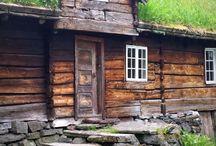 Drewniane chatki
