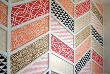 wzory, tekstury / #homestaging #inspiracje #kolor