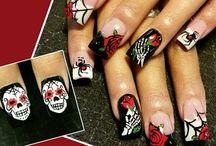Halloween nagel