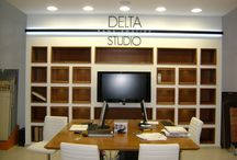 Magazin DELTA Iasi / Delta Studio Iasi 170 mp - showroom de materiale inovatoare, lux si design