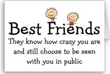 BBF's / This bored is for my crazy weird and funny bffs!!