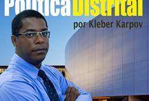 Blog Política Distrital / Conheça o blog dedicado a abordar a Política do Distrito Federal. www.politicadistrital.com.br