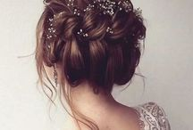 Stunning and Stylish Hairstyles For Your Dream Wedding or Engagement / Brides hairstyle