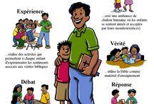 Ecole du dimanche / by Rosalie Kacou Adom