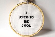 Cross Stitch :) - Funny / by Leah Kelman