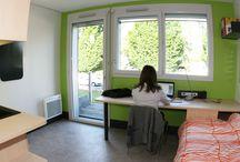 Résidence des Alternants / Découvrez la nouvelle résidence des alternants située sur le campus d'Illkirch, qui a ouvert en septembre 2015.  Résidence entièrement accessible aux personnes à mobilité réduite
