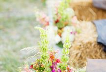 Wedding Ceremony / flower arches, decoration, lights, flowers for wedding ceremonies