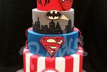 Superhero Hochzeitstorte