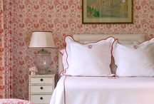 Wallpaper and tiles / Love wallpaper, especially vintage 1930's and 1940's faded floral prints