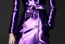 Metallic Trench coat