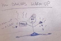 Warm-Up / TIps for warming up for dancers and other movers