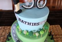 Bike Cycling Themed Cake