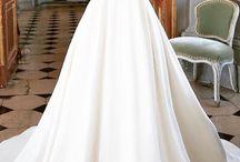 Svatební šaty - inspirace