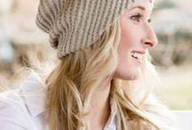 шапка с витым диаганальным узором