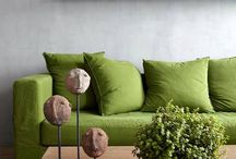 Trend | Greenery / Greenery - Pantone Colour of the Year 2017  Green schemes are everywhere in Interiors for 2017. Vibrant and full of life a pop of green will elevate any aesthetic and bring the outdoors in. Take a look at our top greenery pins for some home decor inspiration.