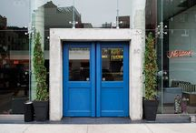 inspiration/ TriBeCa NEIGHBORHOOD / environment around the UHURU showroom
