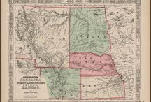 Idaho Antique Maps / Antique maps of Idaho show the dramatic changes in the states geographical and political situation over time. Vintage maps of Idaho often show the growth of railroads, counties and cities in The State of Idaho. Old maps of Idaho, including antique maps of Boise, Pocatello and Idaho Falls can be found here.