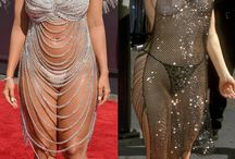 Celebrity Reveals / Celebs and their weird but hot revealing wardrobes...