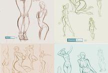 Cartoon Poses