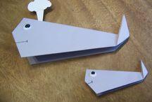 Origami / Origami simples pour enfants de 4 à 8 ans