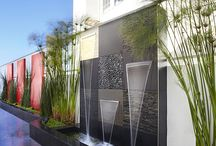 Square Water Feature