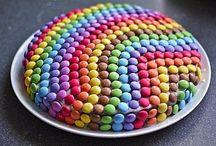 Regenbogenkuchen / Kuchen