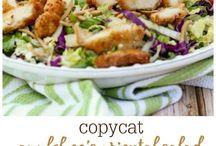 Salads, Main Dish