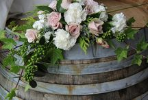 Wedding venue flowers