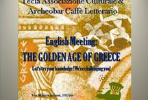 ENGLISH MEETING: The GOLDEN AGE of GREECE / Tecla Associazione Culturale & Archeobar Caffè Letterario invite you to our next meeting to practice English or help others do so. Foreign language learners help each other in building confidence in using another language.  Participants come to practice a foreign language and make friends in a warm and friendly environment.  If you want to spend a nice evening chatting, drinking something, meeting new people, join us! This time we'll try your knowledge! We're challenging you!  FREE event