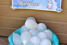 FrOzEn PaRtY ideas** / by Courtney DeBit