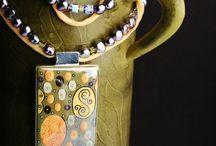 Beautiful Art Jewelry / Art Jewelry Using Focal Beads from Lumina Inspirations