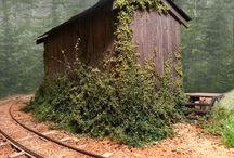 Realistic model scenery H0 / Фото визуальных решений на макете model trains