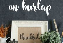 Fall DIY / Fall decorations that you can make!