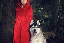 Red Riding Hood Photo Shoot