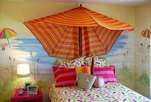 Girls beach themed room / by Nicole Farrar McLeod